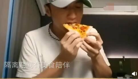 谢霆锋在自己的社交平台晒出一段视频
