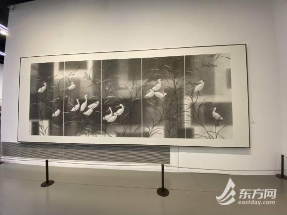 """花开中国梦,这位上海画家用100幅花鸟画""""别样""""诠释花博会主题"""