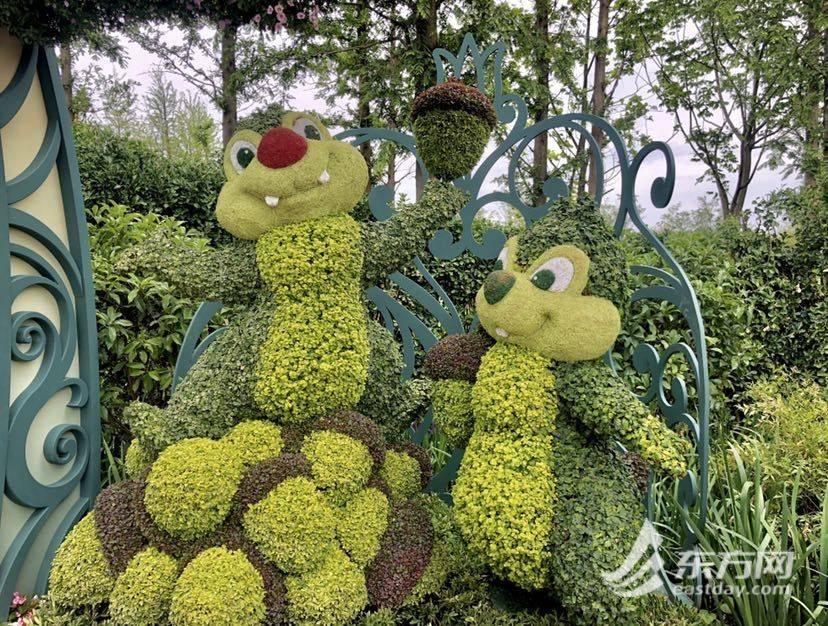 米奇米妮现身花博园 为游客带来迪士尼5岁生日惊喜