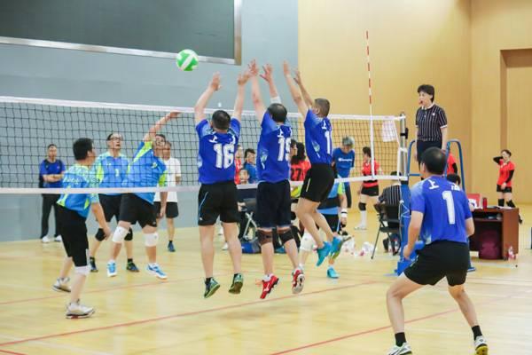 2021年全国老年人气排球推广交流活动(上海站)开幕