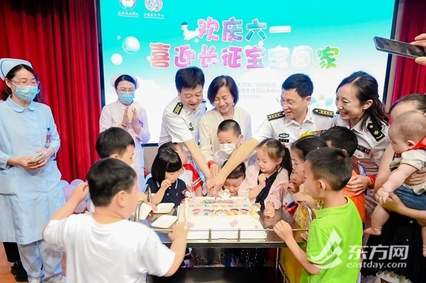 """宝宝回家啦!上海长征医院""""关爱家庭,生育健康""""公益项目启动"""