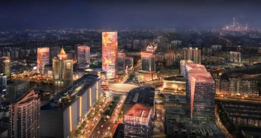 上海五角场区域景观照明设计将再提升插图2