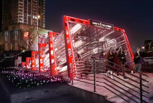 上海五角场区域景观照明设计将再提升插图1