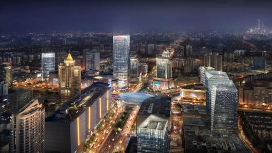 上海五角场区域景观照明设计将再提升插图7