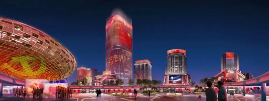 上海五角场区域景观照明设计将再提升插图