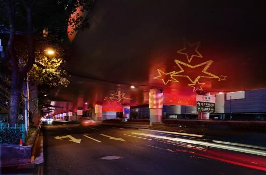 上海五角场区域景观照明设计将再提升插图3