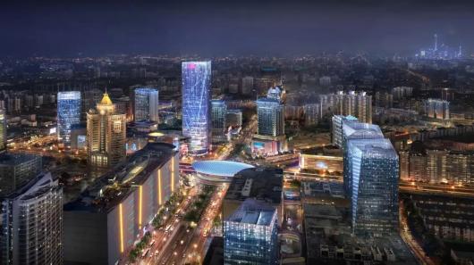 上海五角场区域景观照明设计将再提升插图4