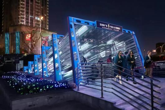 上海五角场区域景观照明设计将再提升插图5