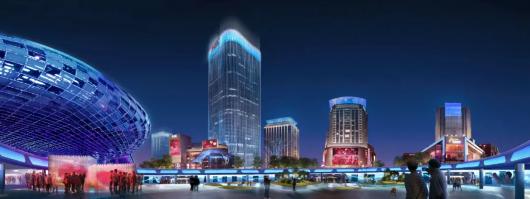 上海五角场区域景观照明设计将再提升插图6