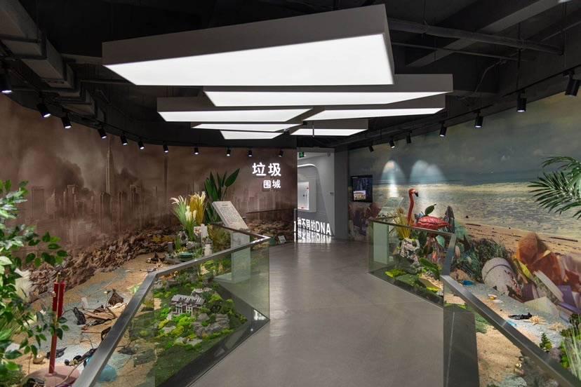 康桥镇再生资源科普展厅正式启动运营