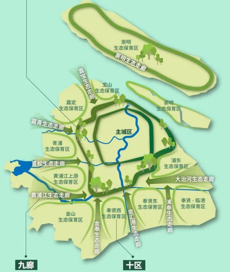 《上海市生态空间专项规划(2021-2035)》发布 力争建成30处以上郊野公园