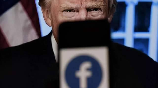 """网站关了、推特封了、脸书再""""补刀""""?""""欲言""""的特朗普似乎不会""""又止"""""""