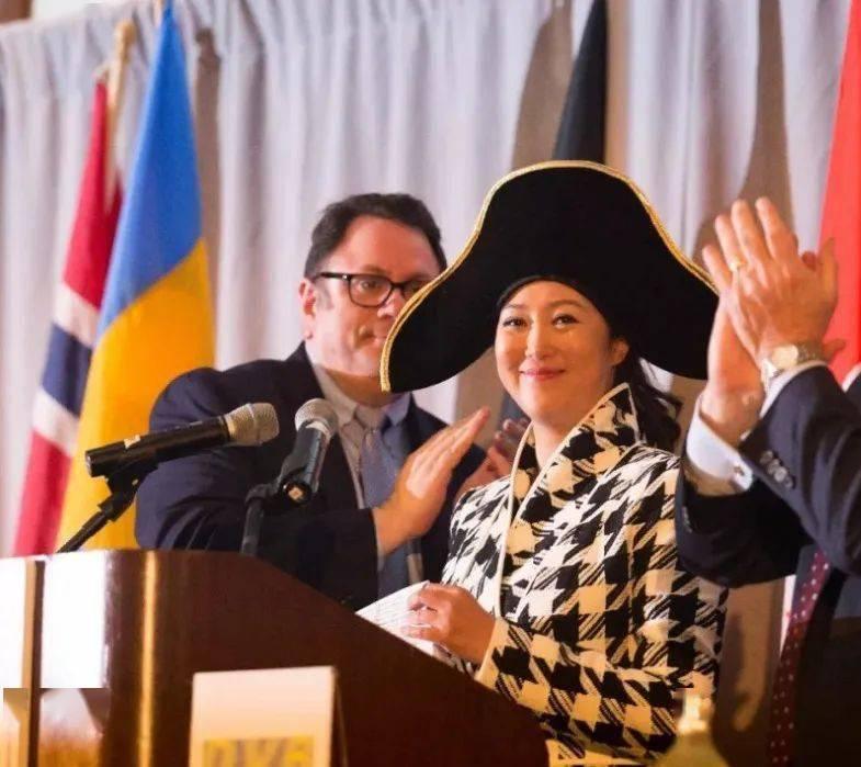 华人女性赵式明最近被推选为波罗的海国际航运公会主席