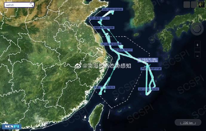 7天4架次!解放军黄海、东海军演之际,美军侦察机疯狂抵近偷窥