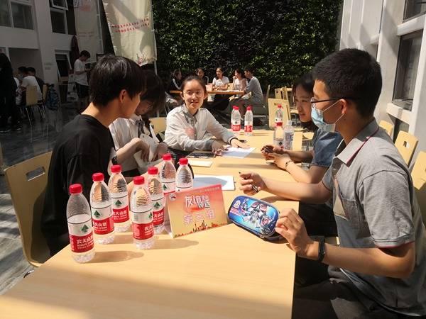 上海中学生飙戏英文情景剧 争夺国际夏令营名额