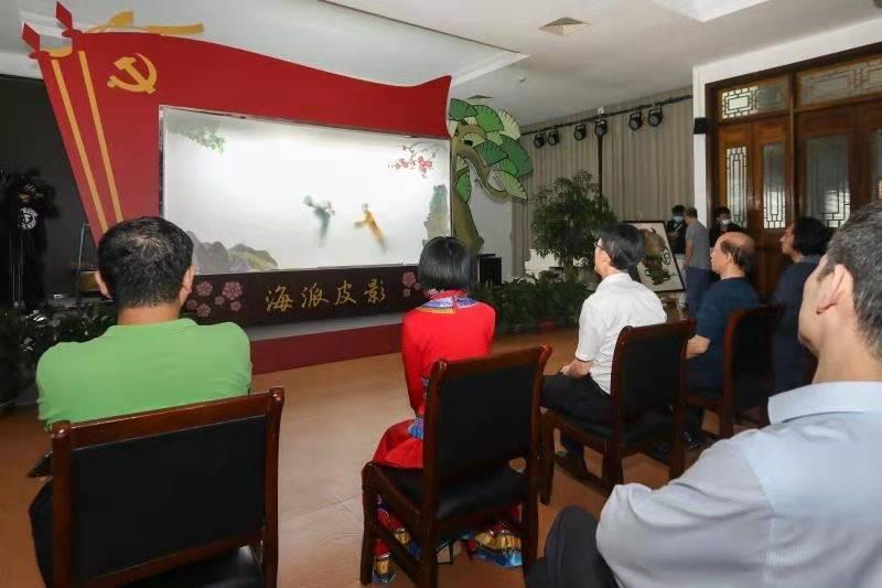 上海首个海派皮影文化园在浦东张江开园
