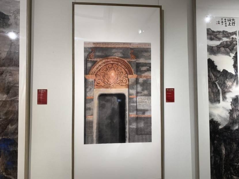 普陀区庆祝建党百年美术书法作品展开幕 囊括连环画、非遗等600余件作品