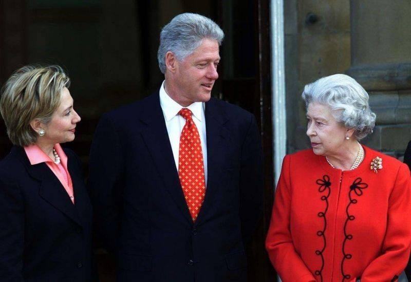 """拜登即将成为""""幸运""""13,盘点美国前总统们会见英女王时的精彩瞬间"""