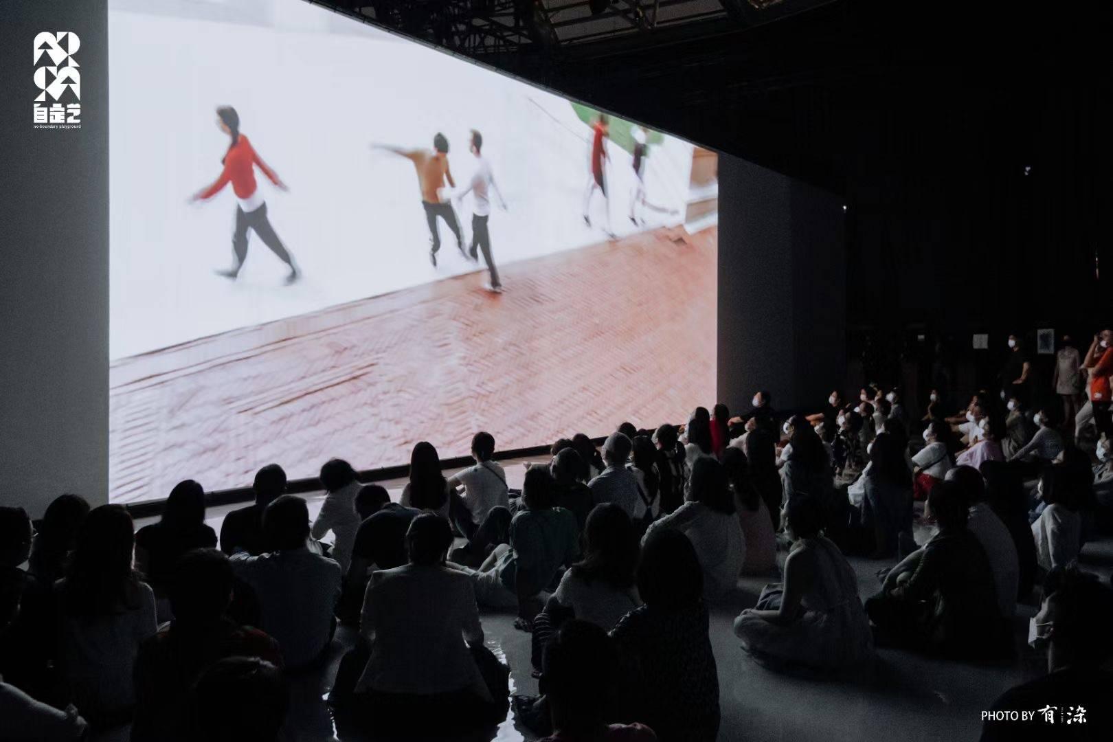 穹顶之下,没有座位的《融》全球首演  见证沈伟艺术新探索