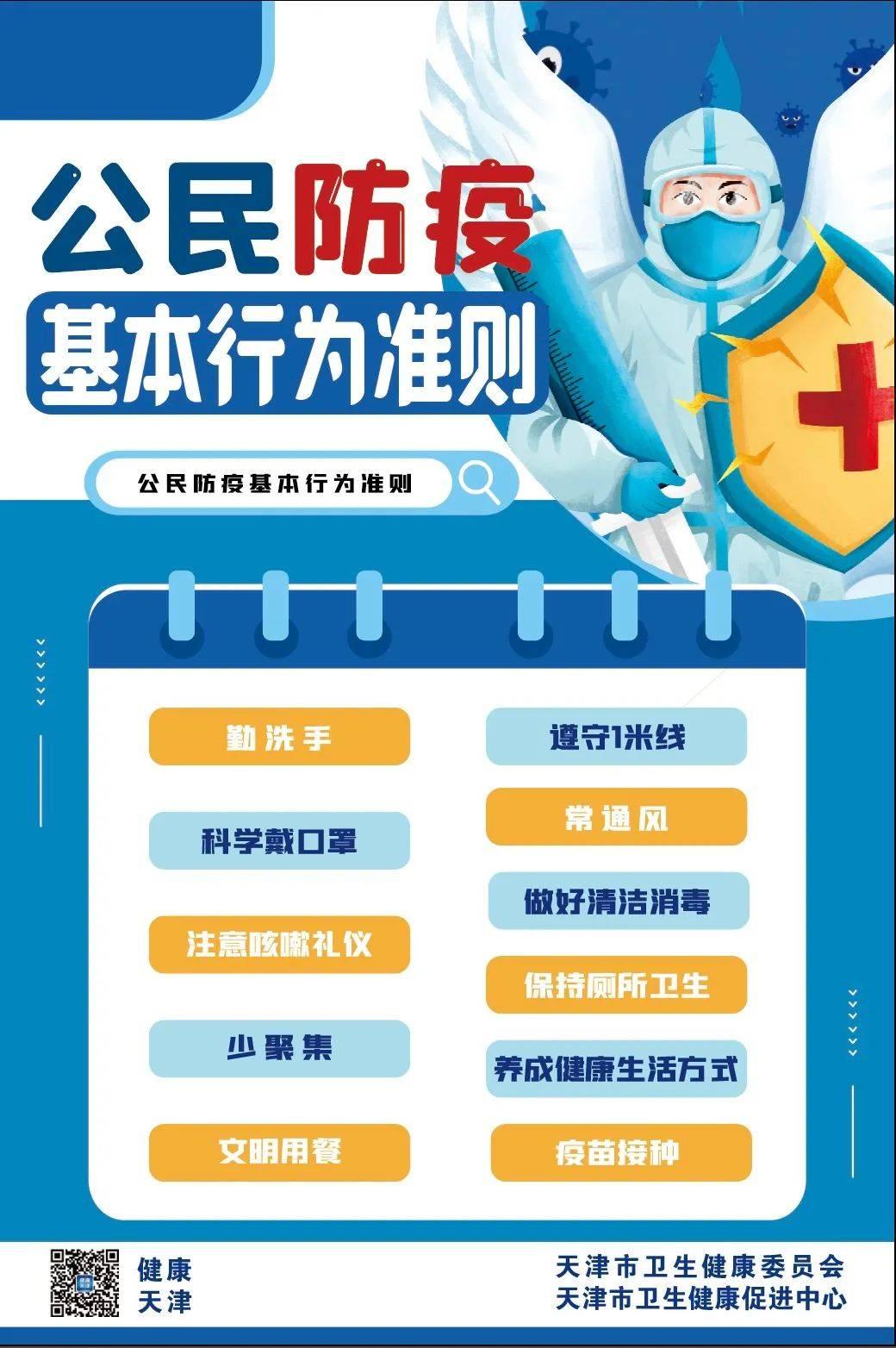 天津新增2例无症状感染者,均为境外输入