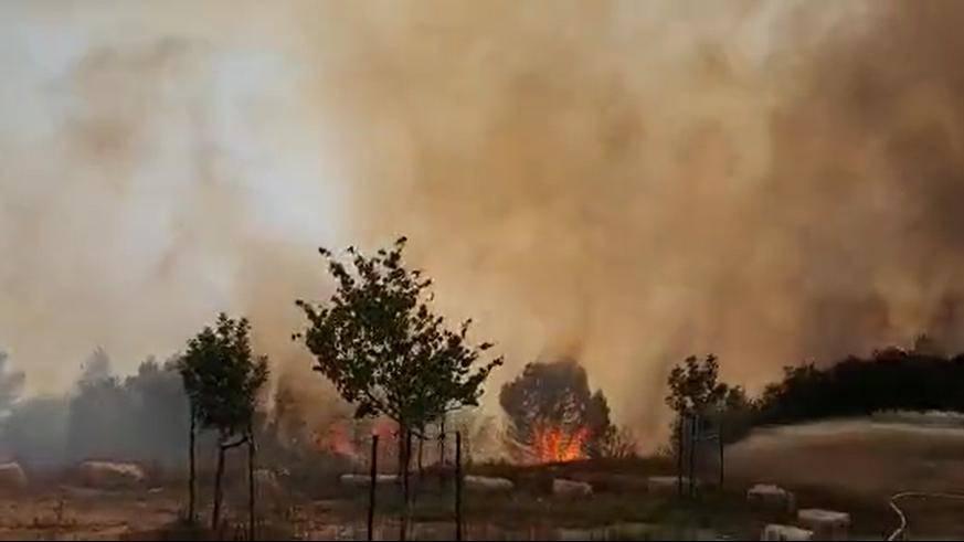 以色列战机空袭加沙地带哈马斯武装军事基地