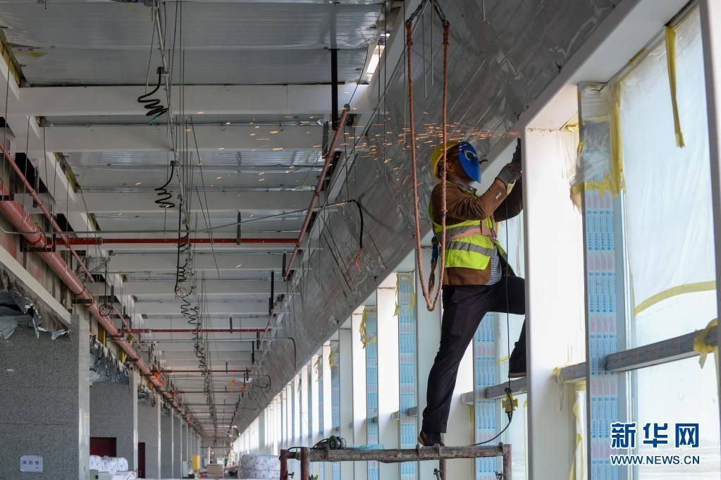 喀什机场改扩建项目建设进入冲刺阶段