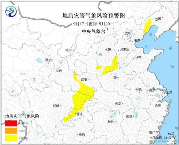 中秋节假期大范围强降雨来袭