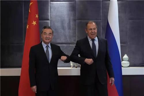 王毅会见俄罗斯外长:中方愿同俄方在阿富汗问题上加强协调