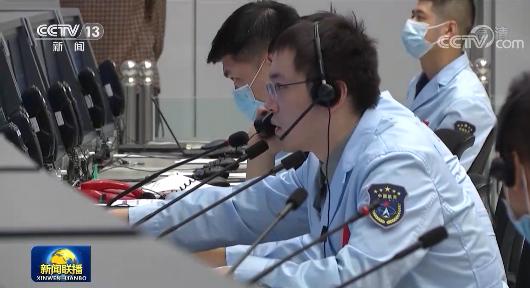 神舟十二号撤离空间组合体 着陆场系统做好回收准备