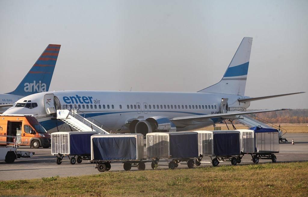 波兰一架客机迫降埃塞俄比亚 起飞前曾起火