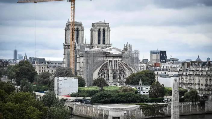 巴黎圣母院第一阶段安全加固工作已结束 修复工作预计冬季启动