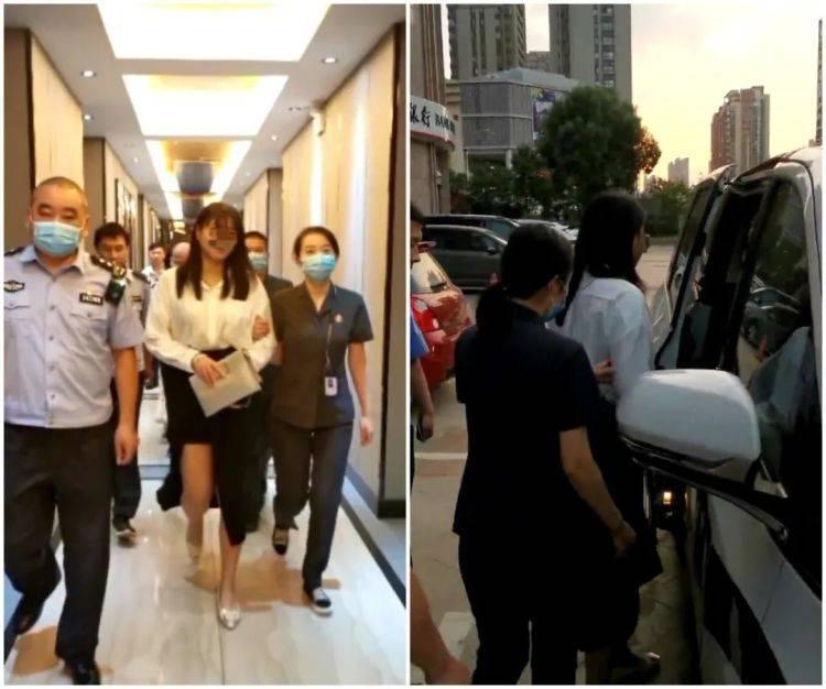 女子在合肥一酒店内被擒!