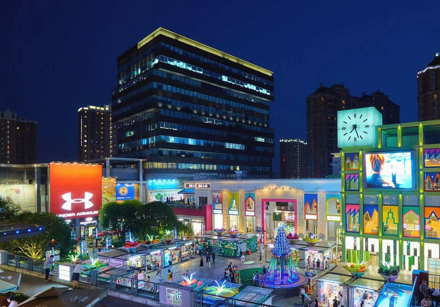 又潮又绿色!这个中秋小长假,浦东金桥这个商业广场玩出新花...