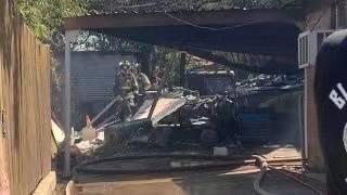 美国军机在得克萨斯州坠毁 致3人受伤