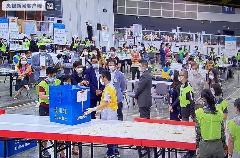 2021年香港特区选举委员会界别分组一般选举结果出炉,364...