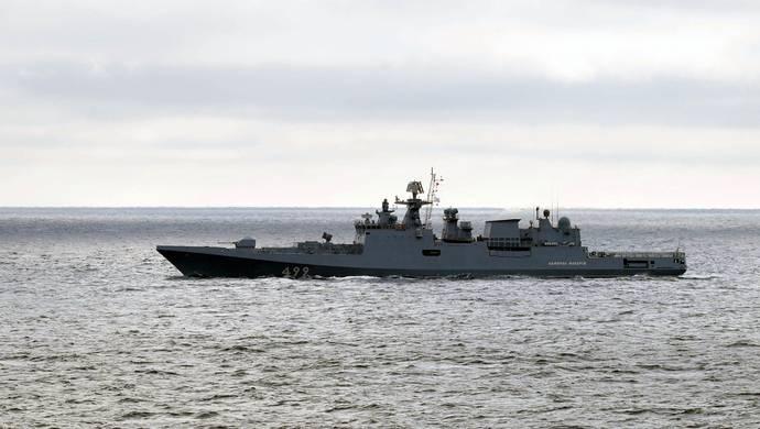 外媒:俄罗斯约20艘军舰在黑海举行实弹演习