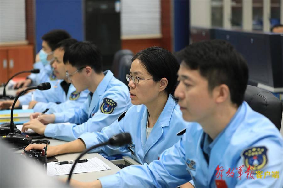 北京空间信息传输中心圆满完成天舟三号天基测控任务