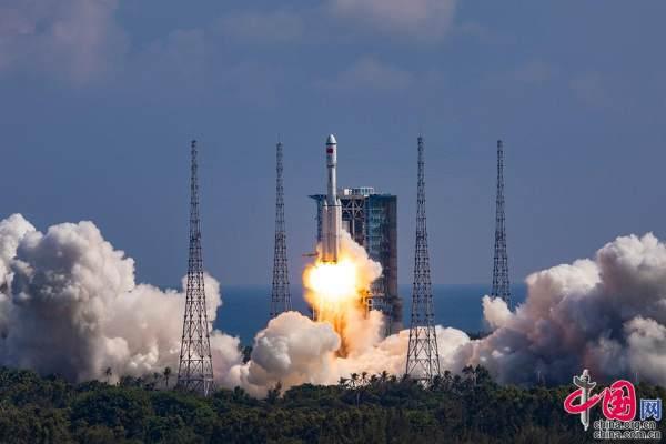 天舟三号货运飞船发射任务取得圆满成功 我国载人航天工程发射任...