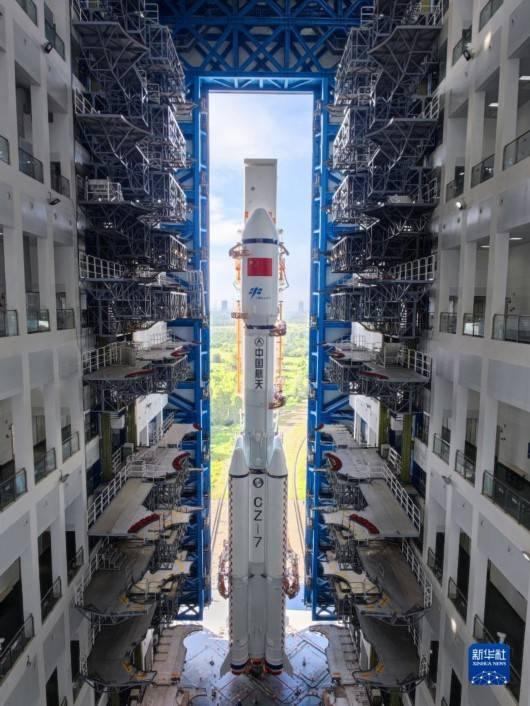 秋空悬明月 天舟再出发――天舟三号货运飞船发射任务详解