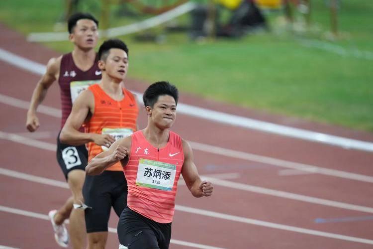 9秒95!苏炳添打破全运会纪录,获个人首枚全运会金牌