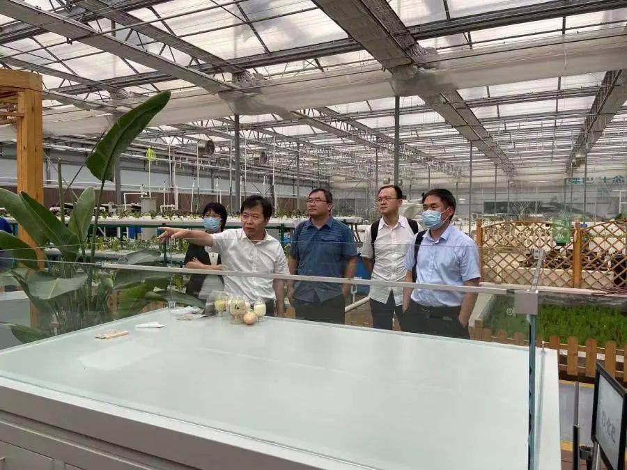 北科院资源环境研究所赴市农科院植物营养与资源环境研究所调研
