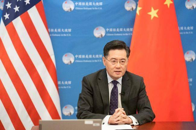 驻美大使秦刚:若国与国政治上对抗,其他方面难以毫发无损
