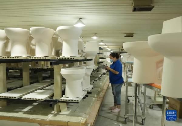 河北丰南:卫生陶瓷产业助力经济高质量发展