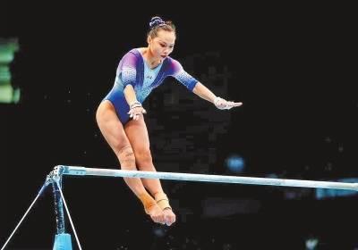 运动之美?第十四届全运会体操项目比赛女子团体决赛花絮