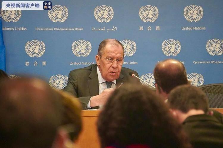 俄罗斯外长拉夫罗夫:大国之间需要更多互相尊重
