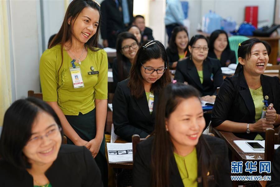 (习近平出访配合稿·图文互动)(4)通讯:缅甸公务员掀起学中文热