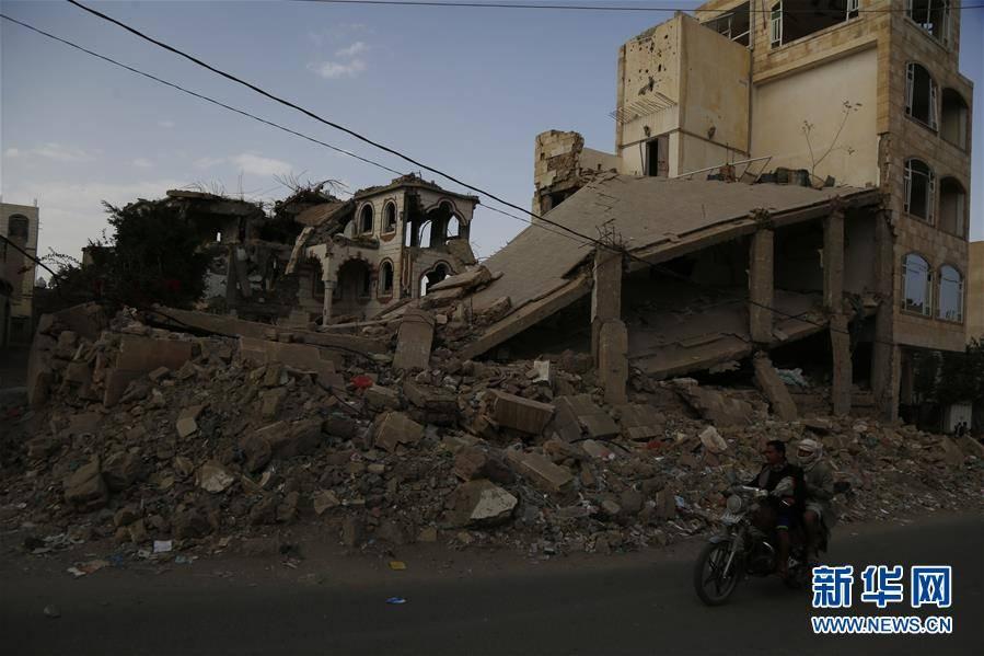 (国际)(4)也门:空袭废墟