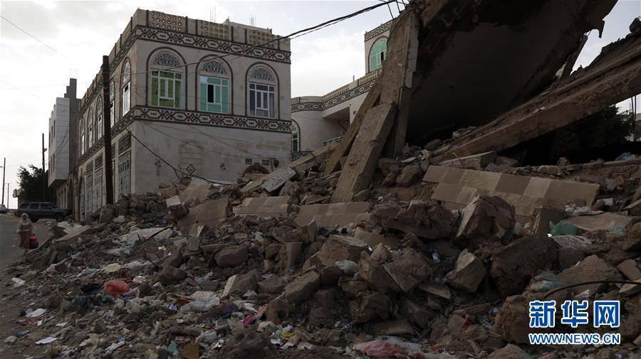 (国际)(5)也门:空袭废墟