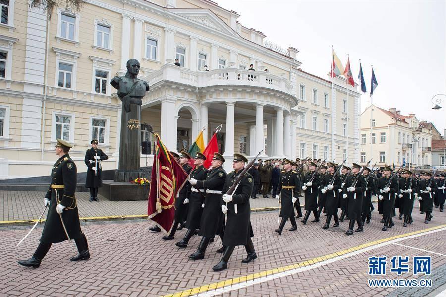 (国际)(1)立陶宛庆祝独立102周年