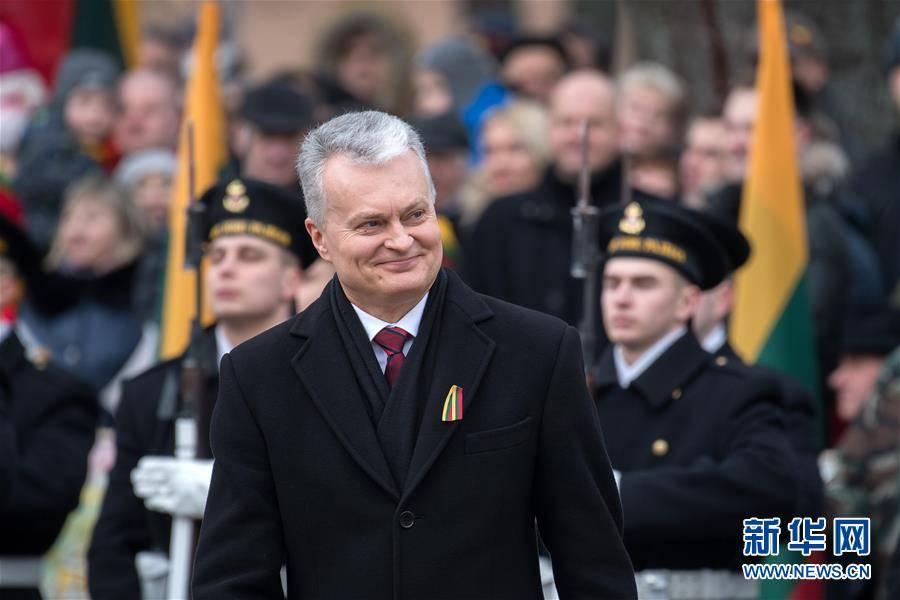 (国际)(3)立陶宛庆祝独立102周年